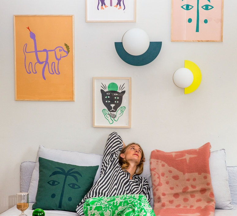 C lamp big petra lilja applique murale wall light  swedish ninja cwlb02  design signed nedgis 118055 product