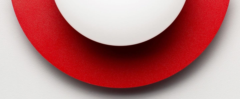 Applique murale c lamp big rouge l37cm h30cm swedish ninja normal