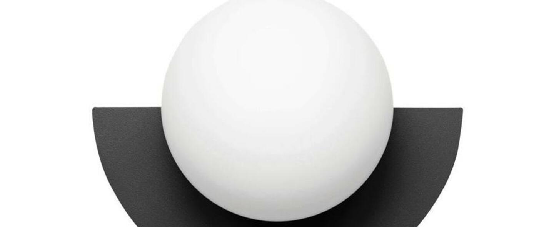 Applique murale c lamp little noir et blanc l28cm p22cm swedish ninja normal
