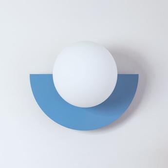Applique murale c lamp small bleu ciel l28cm h22cm swedish ninja normal