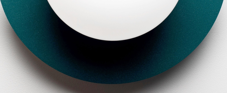 Applique murale c lamp small bluegreen l28cm h22cm swedish ninja normal