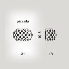 Caboche plus piccola patricia urquiola applique murale wall light  foscarini 311025 25  design signed nedgis 109890 thumb
