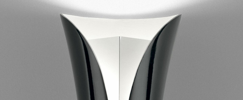 Applique murale cadmo noir led gu10 3000k 920lm o13cm h54cm artemide normal
