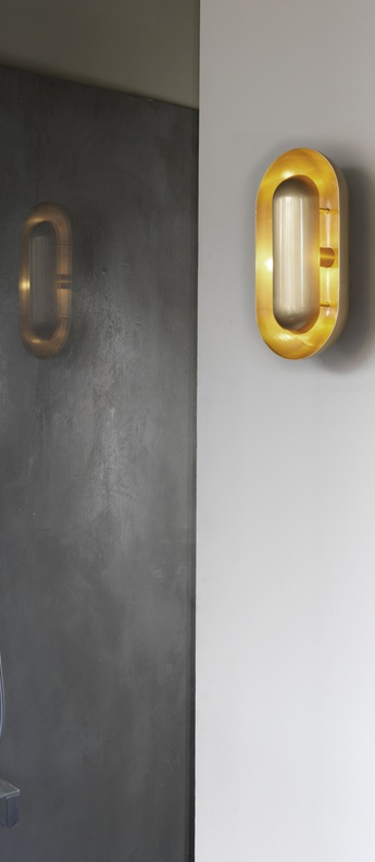 Applique murale capsule or o14 5cm h28cm cto lighting normal