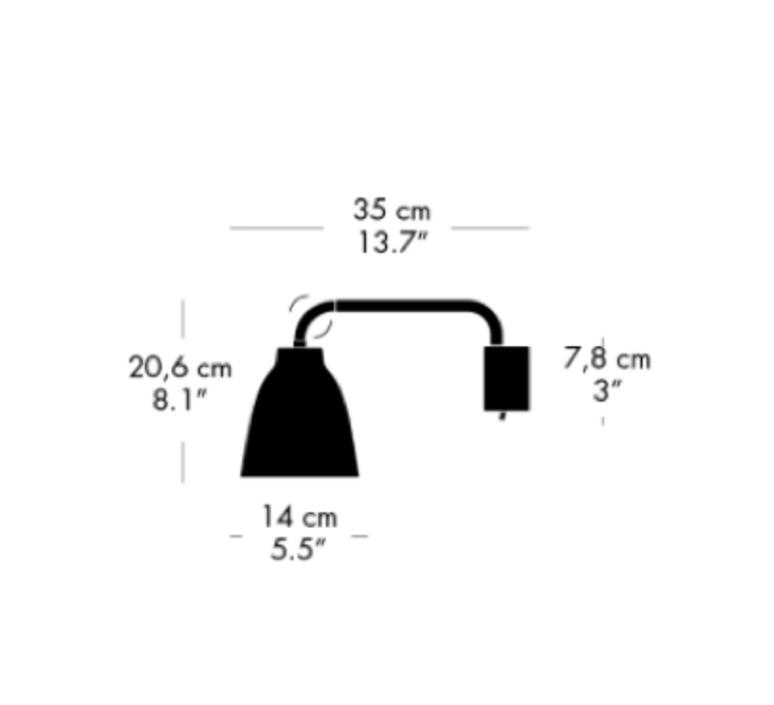 Caravaggio read cecilie manz applique murale wall light  nemo lighting 23041405  design signed nedgis 67185 product