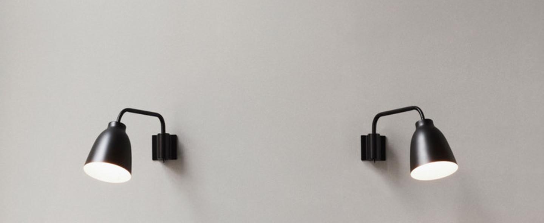 Applique murale caravaggio read noir o35cm h20 6cm lightyears normal