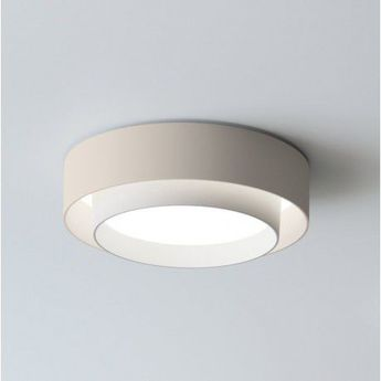 Applique murale centric beige 0led 2700k 3000lm o32cm h10cm vibia normal
