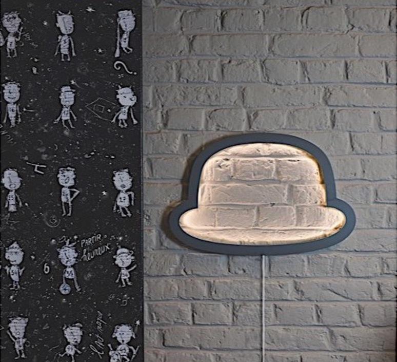 Chapeau chap o henri  applique murale wall light  atelier pierre apwa101d  design signed 37182 product