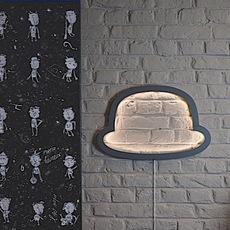 Chapeau chap o henri  applique murale wall light  atelier pierre apwa101d  design signed 37182 thumb