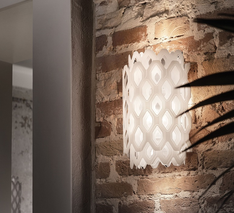 Charlotte applique doriana et massimilano fuksas applique murale wall light  slamp chr88app0000w 000  design signed nedgis 66221 product