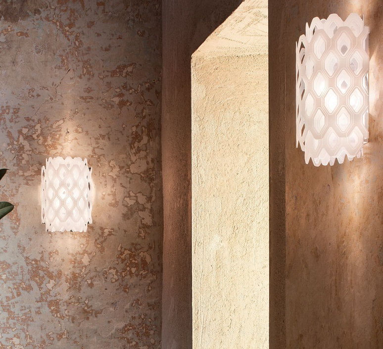 Charlotte applique doriana et massimilano fuksas applique murale wall light  slamp chr88app0000w 000  design signed nedgis 66222 product