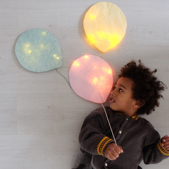 Applique murale cheddar lighting balloon small jaune o22cm h26cm ekaterina galera normal