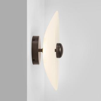 Applique murale cielo applique small bronze led 2700k lm l32cm h32cm cto lighting normal