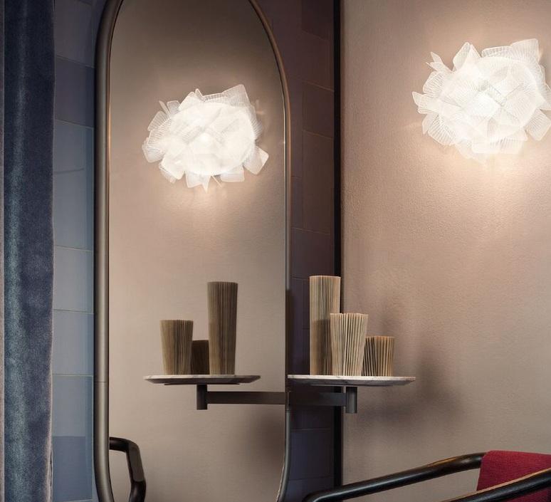 Clizia pixel adriano rachel applique murale wall light  slamp cli78app0000px 000  design signed nedgis 66246 product