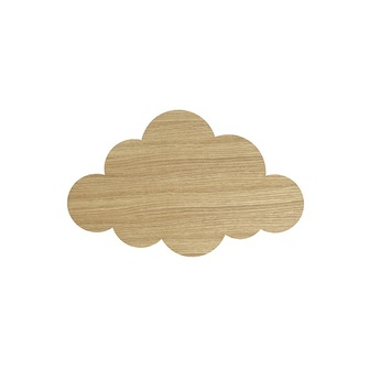 Applique murale cloud lamp chene l40cm h25cm ferm living normal