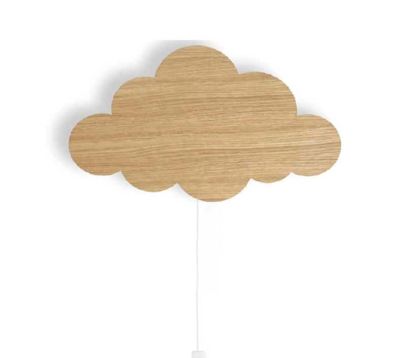 Applique enfant, Cloud, naturel, L9cm, H9cm - Ferm Living