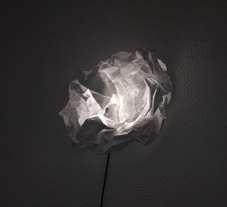 applique murale cloud nuage blanc 60cm proplamp luminaires nedgis. Black Bedroom Furniture Sets. Home Design Ideas