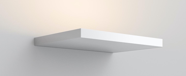 Applique murale cm2 w2 blanc mat led 2700k 3400lm l26cm h2cm rotaliana normal