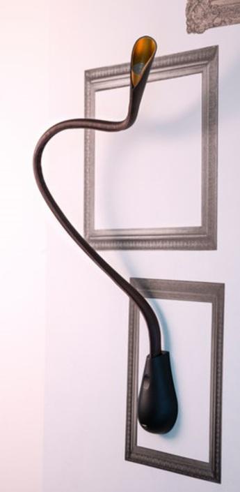 Applique murale cobra marron h84cm innermost normal