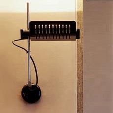 Colombo joe colombo oluce 761 noir luminaire lighting design signed 22572 thumb