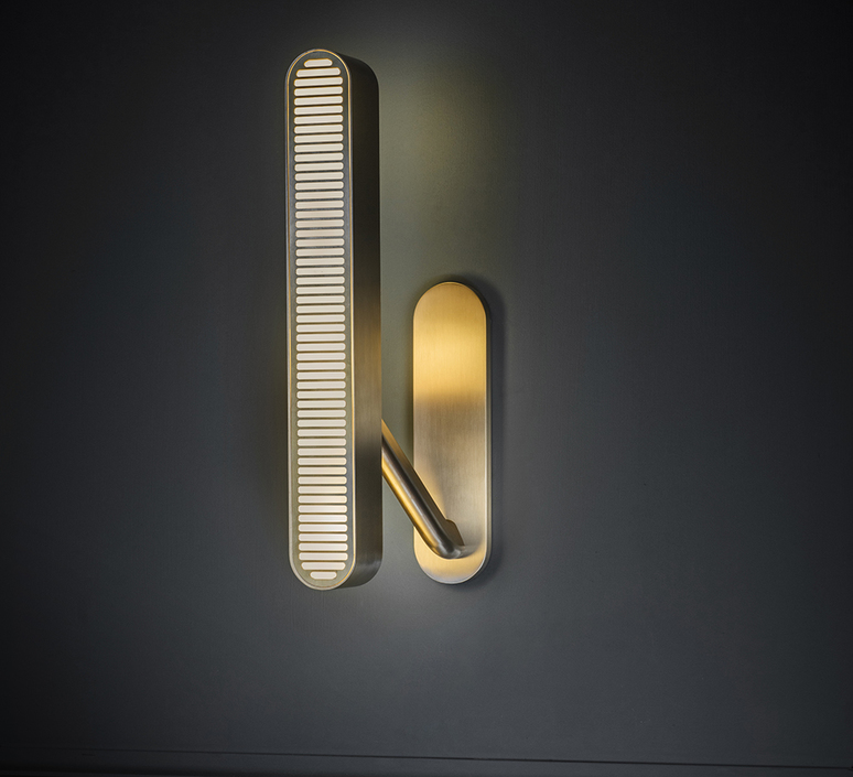 Aegis  applique murale wall light  bert frank aegis wall light copper brass  design signed 54870 product