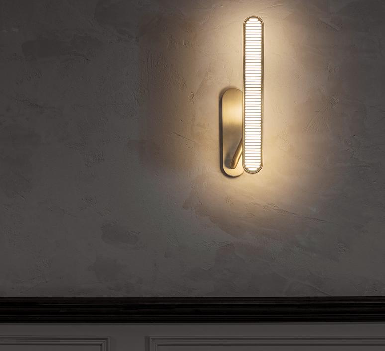Aegis  applique murale wall light  bert frank aegis wall light copper brass  design signed 54871 product