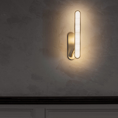 Aegis  applique murale wall light  bert frank aegis wall light copper brass  design signed 54871 thumb