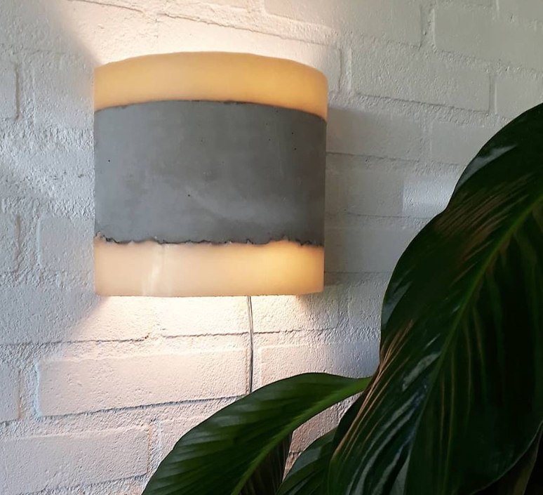 Concrete renate vos applique murale wall light  serax b7214486  design signed 59966 product