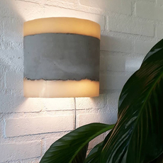 Concrete renate vos applique murale wall light  serax b7214486  design signed 59966 thumb