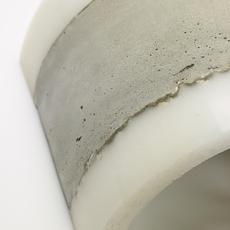Concrete renate vos applique murale wall light  serax b7214486  design signed 59969 thumb