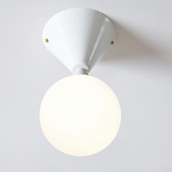 Applique murale cone and sphere blanc o13 5cm p13 5cm atelier areti normal