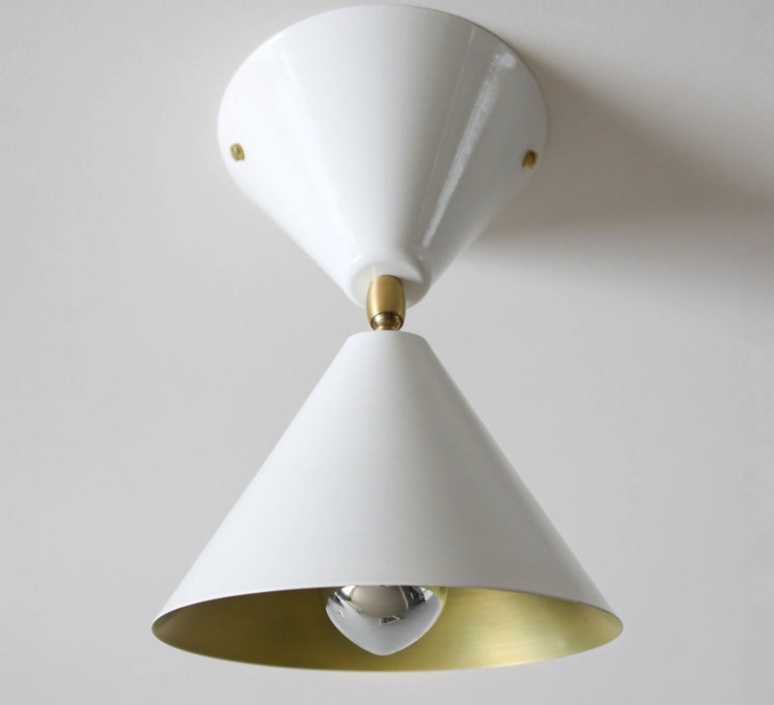 Cone gwendolyn et guillane kerschbaumer  atelier areti cone wall wht br luminaire lighting design signed 29052 product