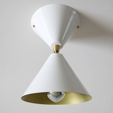 Cone gwendolyn et guillane kerschbaumer  atelier areti cone wall wht br luminaire lighting design signed 29052 thumb