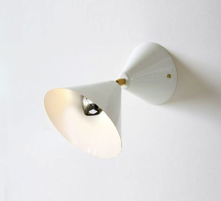 Cone gwendolyn et guillane kerschbaumer  atelier areti cone wall wht luminaire lighting design signed 29048 product