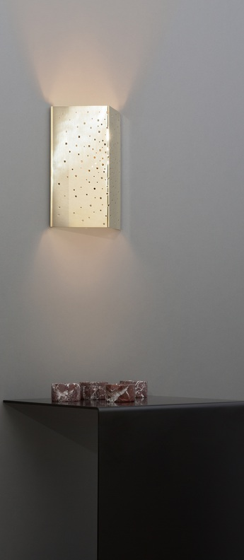 Applique murale constellation laiton l18cm h26cm cto lighting normal