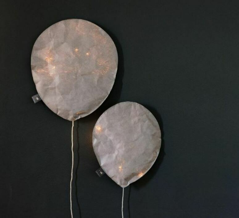 Cool gray lighting balloon large ekaterina galera applique murale wall light  ekaterina galera coolgraylightingballoon l  design signed nedgis 87908 product