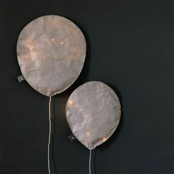 Applique murale cool gray lighting balloon large gris o27cm h31cm ekaterina galera normal
