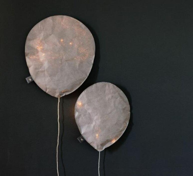 Cool gray lighting balloon small ekaterina galera applique murale wall light  ekaterina galera coolgraylightingballoon s  design signed nedgis 87808 product