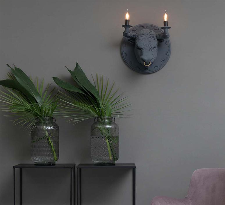 Corrado matteo ugolini applique murale wall light  karman ap251grint  design signed nedgis 123806 product