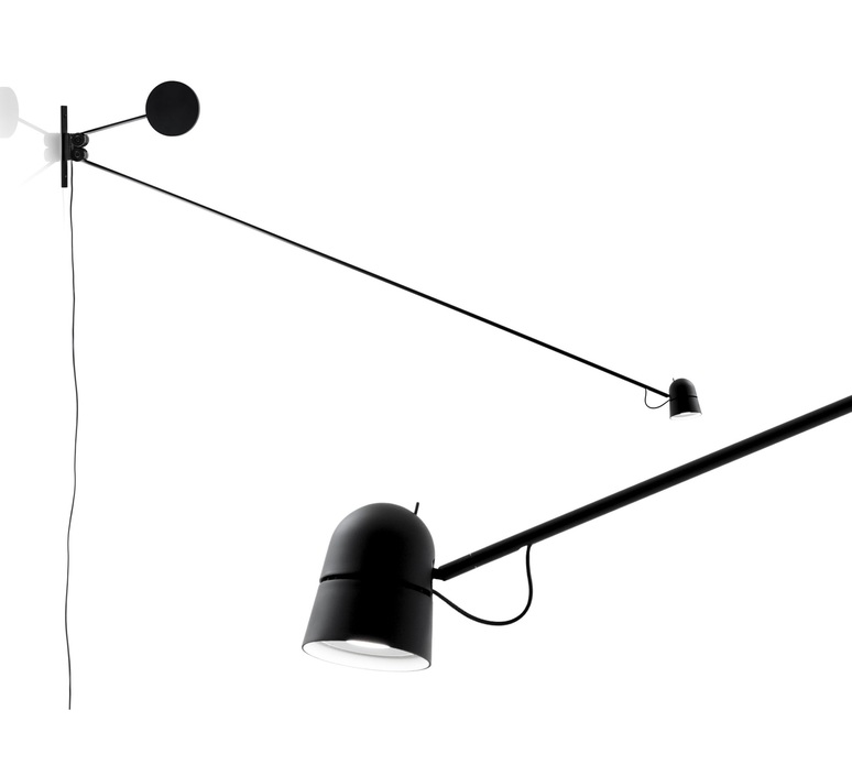 Counterbalance d73n daniel rybakken applique murale wall light  luceplan 1d7300000001  design signed 55893 product