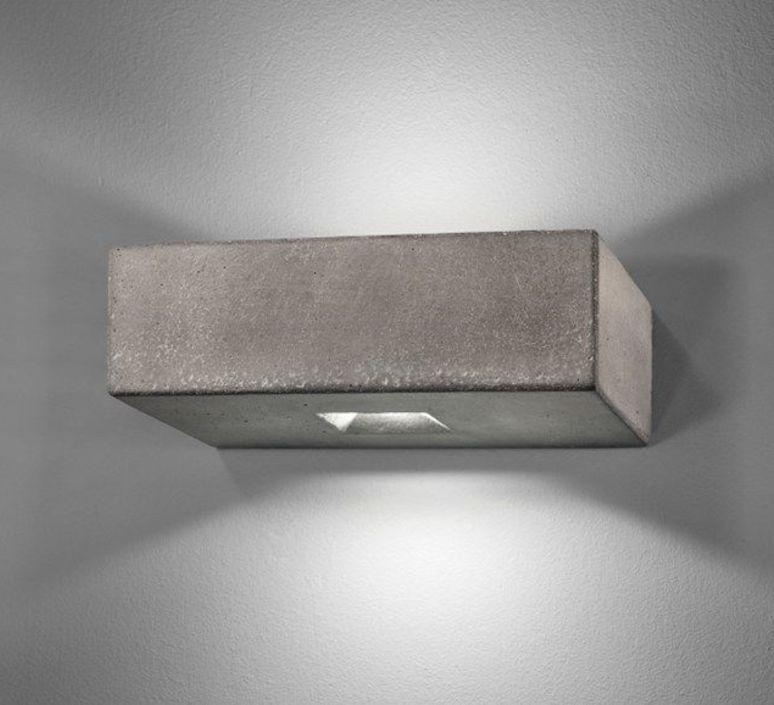 Brique 2o  applique murale d exterieur outdoor wall light  lucifero s ic1002 830  design signed 60874 product