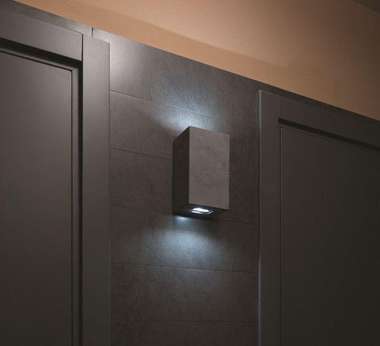 Brique 2v  applique murale d exterieur outdoor wall light  lucifero s ic1102 830  design signed 60864 product