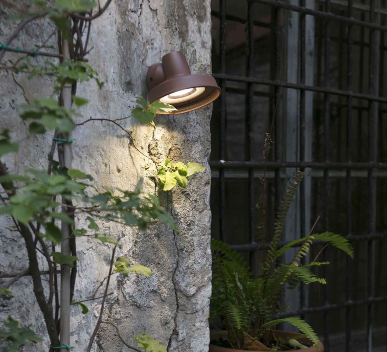 Bronx manel llusca applique murale d exterieur outdoor wall light  faro 71194  design signed 47497 product