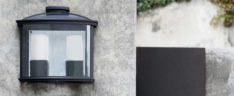 Applique murale d exterieur ceres noir l32cm faro normal