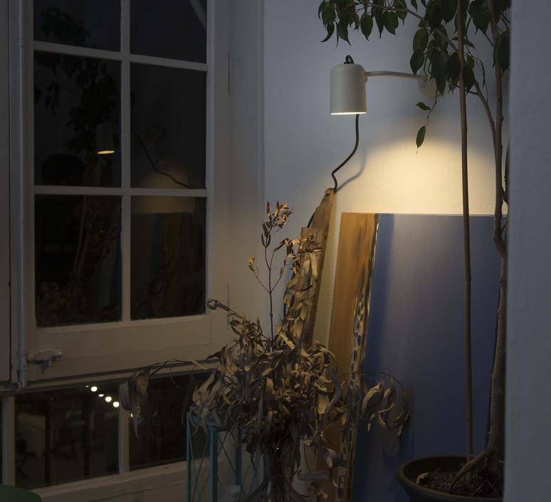 Flow estudi ribaudi applique murale d exterieur outdoor wall light  faro 71547  design signed 49238 product