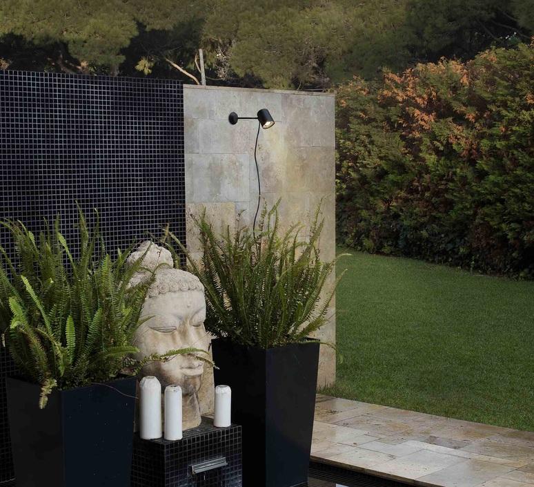 Flow estudi ribaudi applique murale d exterieur outdoor wall light  faro 71546  design signed 49232 product