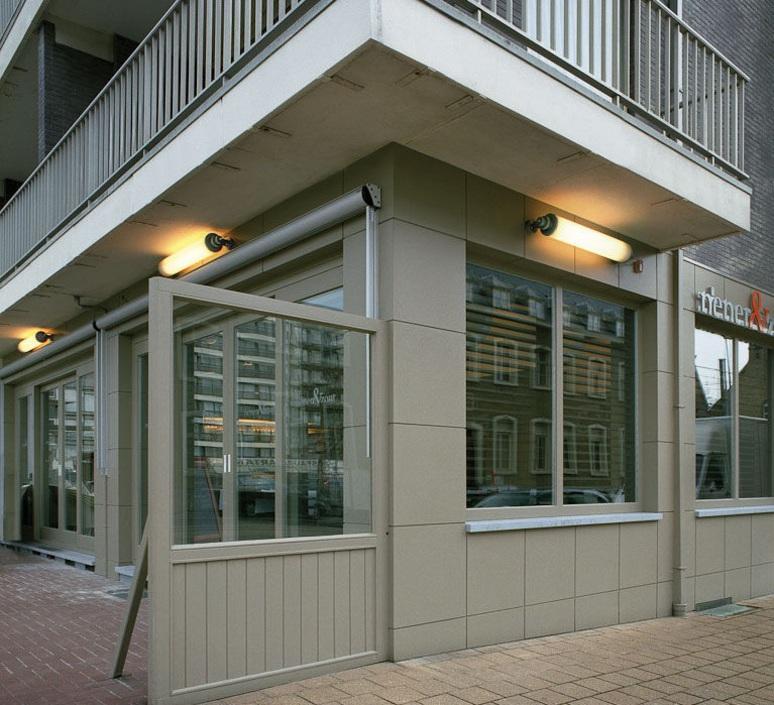 Fuser single studio modular applique murale d exterieur outdoor wall light  modular 11100811  design signed 34785 product