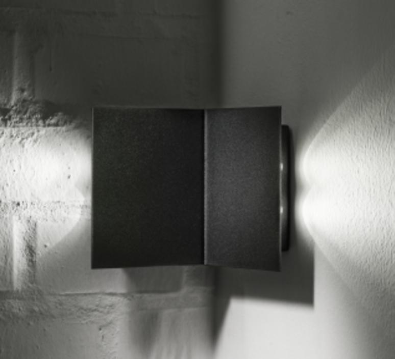 Manine 270 o bi emissione orizzontale  applique murale d exterieur outdoor wall light  lucifero s lt7101 01  design signed 60890 product