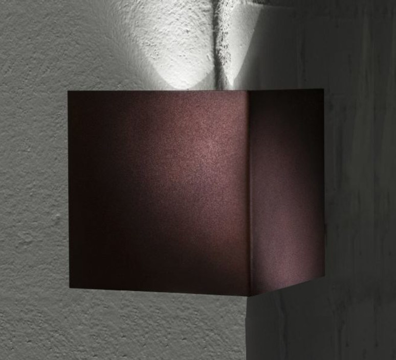 Manine 270 v mono emissione verticale  applique murale d exterieur outdoor wall light  lucifero s lt7003 01  design signed 60880 product