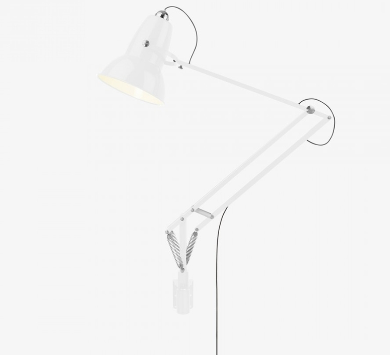 Applique murale d 39 ext rieur original 1227 giant blanc - Luminaire industriel la giant collection par anglepoise ...